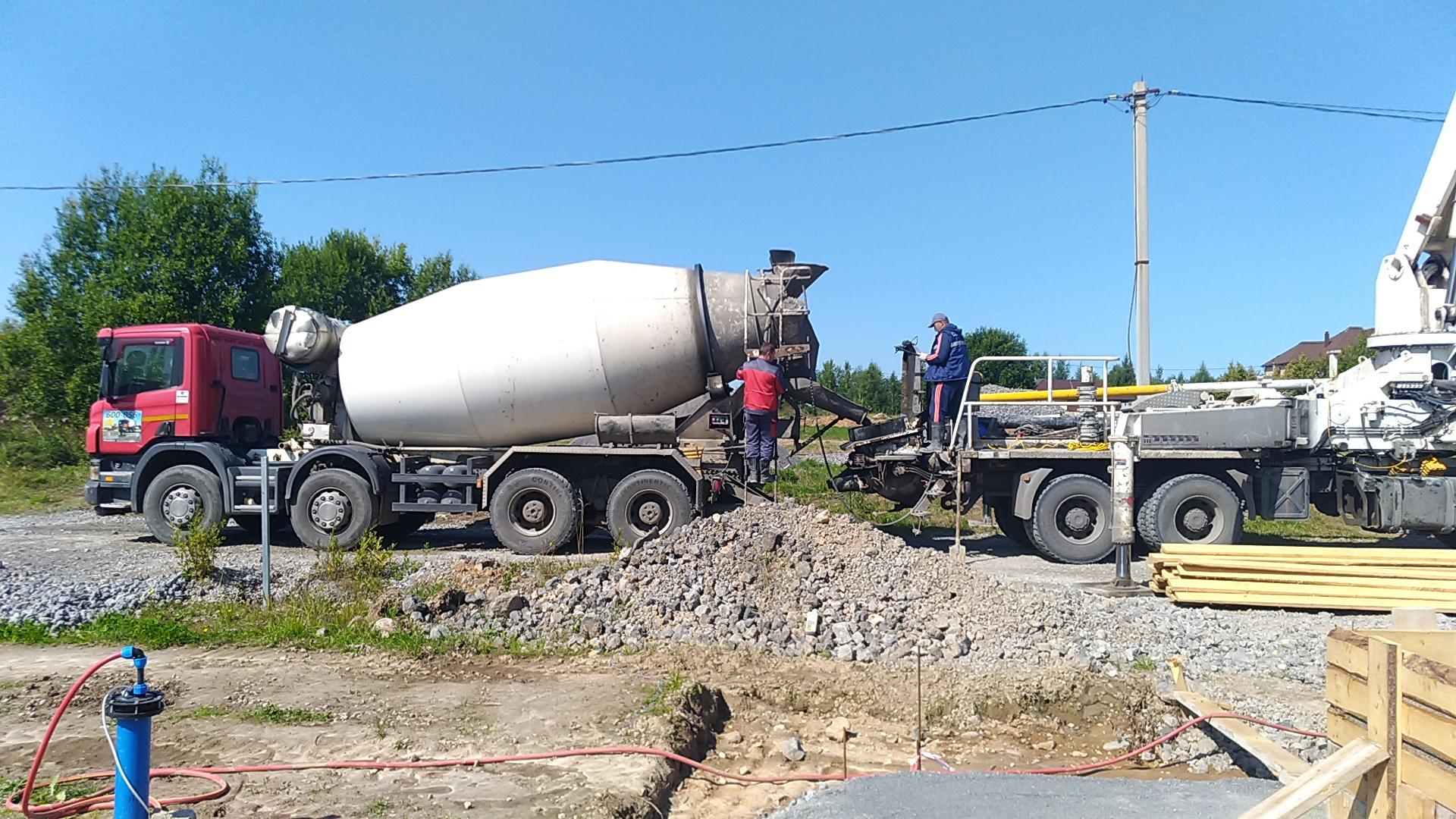 купить бетон в череповце с доставкой цена